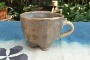 黄瀬戸釉カップ